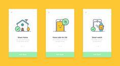 App App Ui Design, Mobile App Design, User Interface Design, Mobile Ui, Web Design, Onboarding App, Iphone Ui, Card Ui, Adobe Illustrator Tutorials