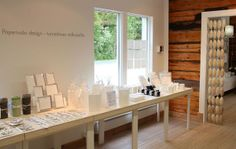Paperivalo showroom. www.paperivalo.fi