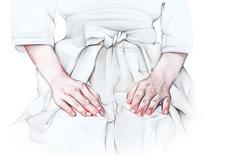2010, untitled, 57x62cm, colored pencils on paper by Marianna Ignataki