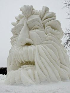 U.S. National Snow Sculpting 2014