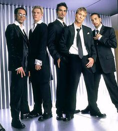 Backstreet Boys. I like their music. Their lyrics and voices made them stand out among other boy bands. They might not have been better than NSYNC but it's a close comparison. My first cassette tape was their debut album!