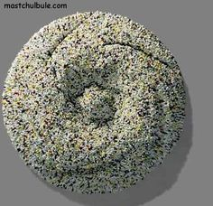 cotton swab sculpture