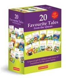 20 Favorite Tales from the Qur'an Saniyasnain Khan : Favorite Tales from the Quran are timeless, treasured stories, specially chosen for young children. These stories, which have proved the best loved from one generation to the next, can be clearly understood and are fun to read, share and enjoy. Their texts are the perfect gateway to your children's lifetime adventure of reading from the Quran.