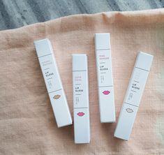 Oui Fresh lip gloss packaging design | Mara Dawn Studio