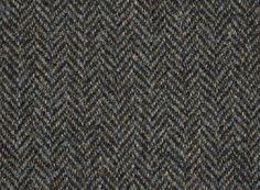 Subtle blue flecks in this stunning charcoal Harris Tweed sample? #HarrisTweed  #ScottishFashion