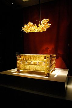 The Larnax of Philip II of Macedon,  Vergina Museum - Pella