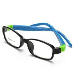 0012d53ef72 Kid Glasses Rubber Eyeglasses Kids Frames Optical Eyewear for Children No  Screw Safe TR Food Grade Myopia Lense 8813