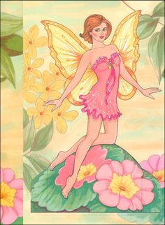 Fairy Paper Doll | Additional Photo (Inside Page)