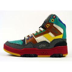 Pony M100 Dee & Ricky White/Black/ Multi 70712-SEA-52 High-Top Sneaker http://www.feine-produkte.de/products/pony-m100-dee-ricky-white-black-multi-70712-sea-52-high-top-sneaker-neu-ovp-916-de.html