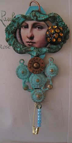 MINI ALTERED ART DOLL ASSEMBLAGE EXPLORED