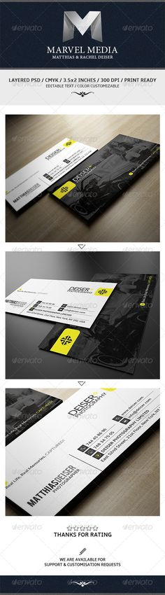 Corporate Business Creative Cards Print Templates Card