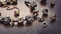 Each bracelet is unique ~ no two are alike.  Each charm represents something or someone you love!