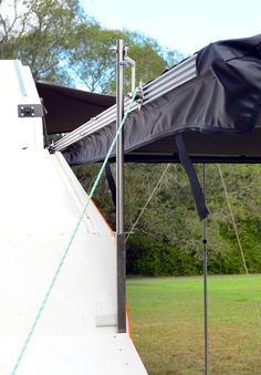Quick Set Up Awning for TVAN Mark 11 and 111 Camper Awnings, Multifunctional, Breeze, Zero, Campervan Awnings