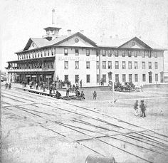 The first major building in Fargo was the Headquarters Hotel constructed by the Northern Pacific Railroad in 1872. The rates when it opened were .$50 to $1.00 a day without meals.
