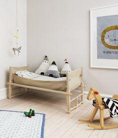 ¡Nuevo! 10 Habitaciones muy naturales para niños - DecoPeques