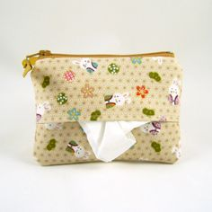 Tissue pouch and Zippy in one - Rabbit in kimono by GiveGift, $11.90 USD I love this and will try to make one