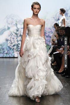 Monique Lhuillier Fall 2012 Bridal | CHECK OUT MORE IDEAS AT WEDDINGPINS.NET | #weddingfashion