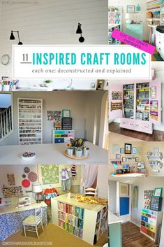 Cricut craft and sewing room organization hacks pinterest sewing 11 craft room ideas organized reverse engineered by cut cut craft solutioingenieria Images