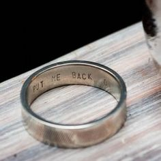 170 Best Wedding Ring Inscriptions Images On Pinterest Dream Estate Engagement And Bands