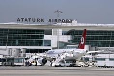 Ataturk International Airport, located in the Yesilkoy district, 24 km (15 miles) west from the city center is the larger of the two airports. Description from turkeyvoyage.com. I searched for this on bing.com/images