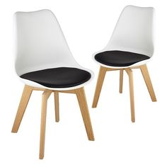 Set of 2 - Stockholm Shell Dining Chair 12% OFF | $219.00 - Milan Direct