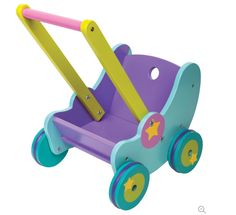 Gyazo - Boikido Wooden Doll Pram - Contemporary - Baby And Toddler Toys - by Boikido - Google Chrome