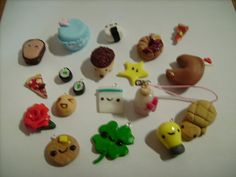 pics of polymer clay charms - Google Search