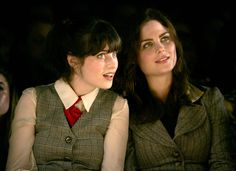 How did I know both of their names and not make the Deschanel family connection?! Such talented sisters and two of my favorite actresses