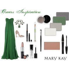 """Oscars Inspiration - Green"" by natalie-edmondson on Polyvore"