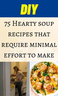 Hearty Soup Recipes, Crockpot Recipes, Cooking Recipes, New Recipes, Favorite Recipes, Recipies, Easy Meals, One Pot Meals, Soup And Sandwich