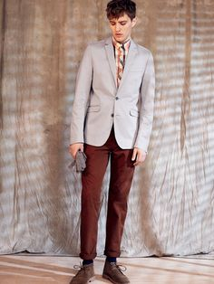 Ben Sherman - EC1: Worn Since '63 Chino Slim Fit (Brown Rust)
