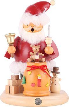 Smoker Santa Claus - 18 cm / 7 inches  plus shipping