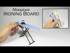 Miniature Desk and Chair // How to Sculpt the World's Tiniest Desk - YouTube