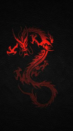 Black Chinese Dragon Iphone Wallpaper