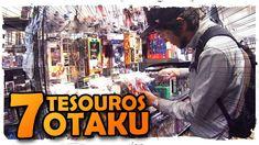 PROCURANDO OS 7 TESOUROS OTAKU EM AKIHABARA! SUPER RARO! | AQUIPODE - A VIDA NO JAPÃO - Japão Cultura #Marketing