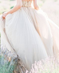 awesome Ethereal Bridal Style in a Tulle Gown - Wedding Sparrow Tulle Wedding Gown, Tulle Gown, Bridal Dresses, Bridal Gown, Bridal Looks, Bridal Style, Wedding Couple Pictures, Prom Pictures, Field Wedding