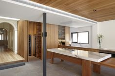 Hawthorn House / AM Architecture - check out the hidden kitchen/scullery/cellar Architects Melbourne, Melbourne Architecture, Best Architects, Modern Architects, Interior Architecture, Building Architecture, Interior Design, Residential Architect, Architect House