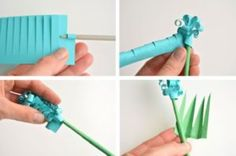 Paper Hyacinth Tutorial Video Instructions