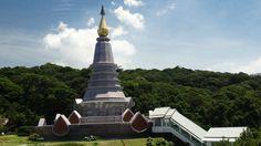 The Queen's Pagoda, Doi Inthanon, Thailand. Burj Khalifa, 60th Birthday, Statue Of Liberty, Thailand, Queen, Statue Of Liberty Facts, Liberty Statue, Show Queen