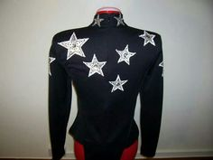 Black with silver stars rail shirt 2 of 3