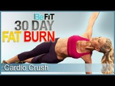 ▶ 30 Day Fat Burn: Cardio Crush - YouTube