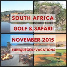 South Africa Golf and Safari - The Best Places to Stay and Play!