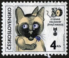 Cat, by Etienne Delessert, Swiss