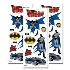 Batman Clear Sticker Set [3 Pack]