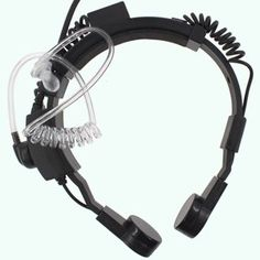 Amazon.com: Tenq Military Grade Tactical Throat Mic Headset/earpiece with BIG Finger PTT for Baofeng Radios Walkie Talkie 2 Pin Jack: Electronics