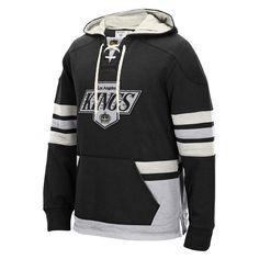 Los Angeles Kings CCM Pullover Hoodie - Black - $84.99
