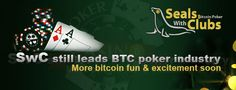 Seals With Clubs launched Big BTC, a weekly Bitcoin poker tournament pegged to be the largest in the world. Held every Sunday, this poker tournament features a guaranteed prize pool of 20 BTC or 20,000 chips in equivalent.
