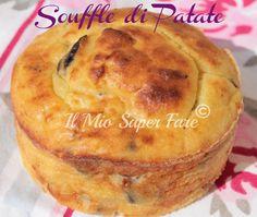 Souffle di Patate e Funghi ricetta facile