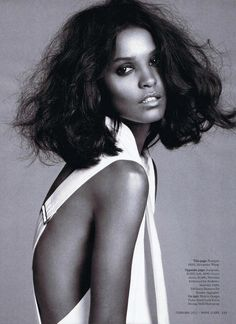 Ethopian Women Are Worlds Most Beautiful To Me!! Model : Liya Kebede