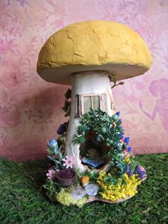 Furnished Fairy House Toadstool Tower